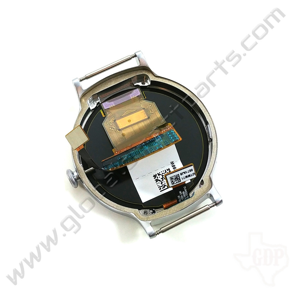OEM LG Watch Style W270 POLED & Digitizer Assembly - Silver [ACQ89571801]