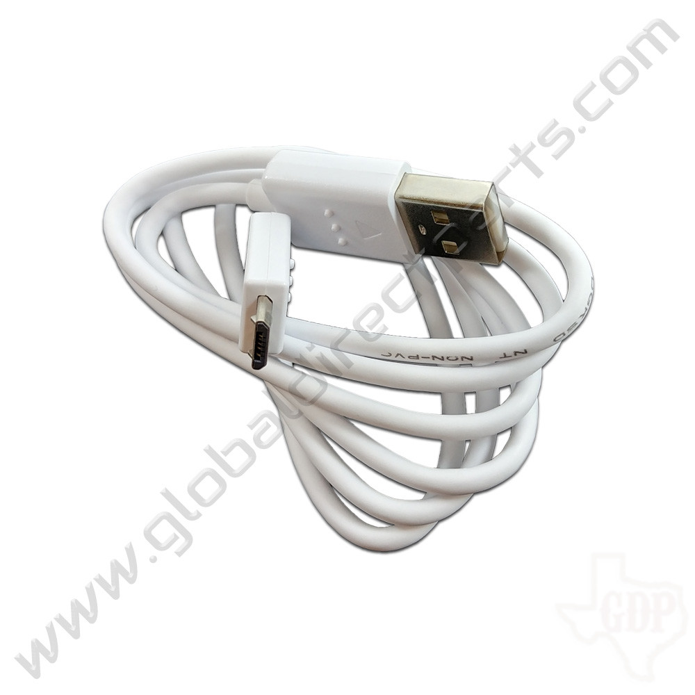 OEM LG Micro-USB Charging Cable (3 Foot) - White  [EAD62377922]