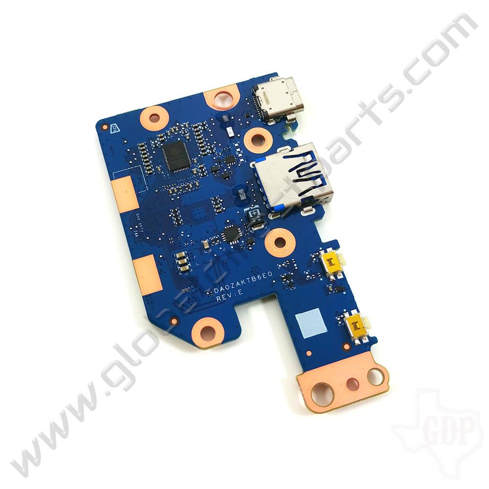 OEM Acer Chromebook Spin 512 R851T, 511 R752T Type-C Charging, USB & Volume Key PCB