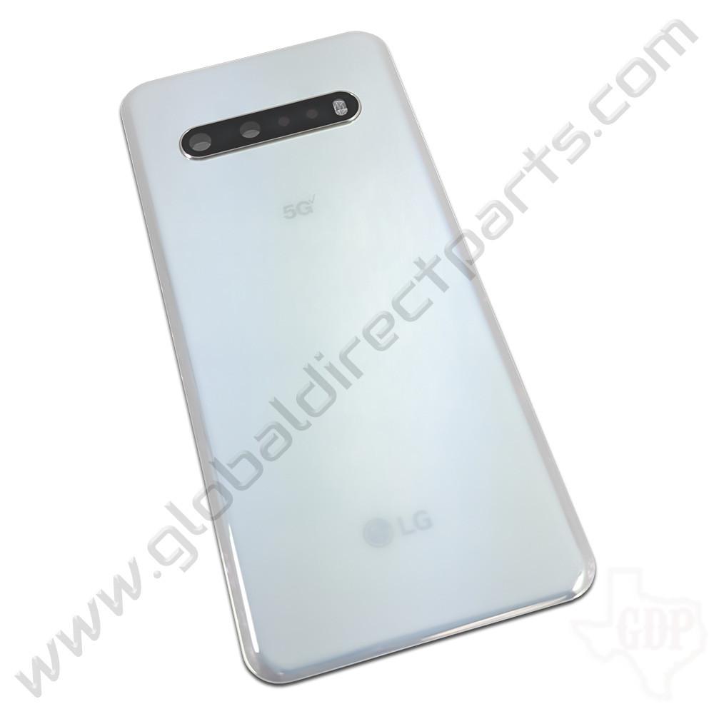 OEM LG V60 ThinQ 5G UW V600VML Battery Cover Assembly - White [ACQ30097002]