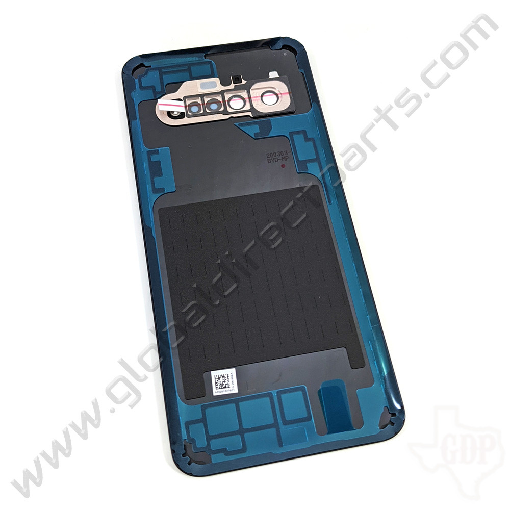 OEM LG V60 ThinQ 5G V600AM, V600TML Battery Cover Assembly - Blue [ACQ91607601]