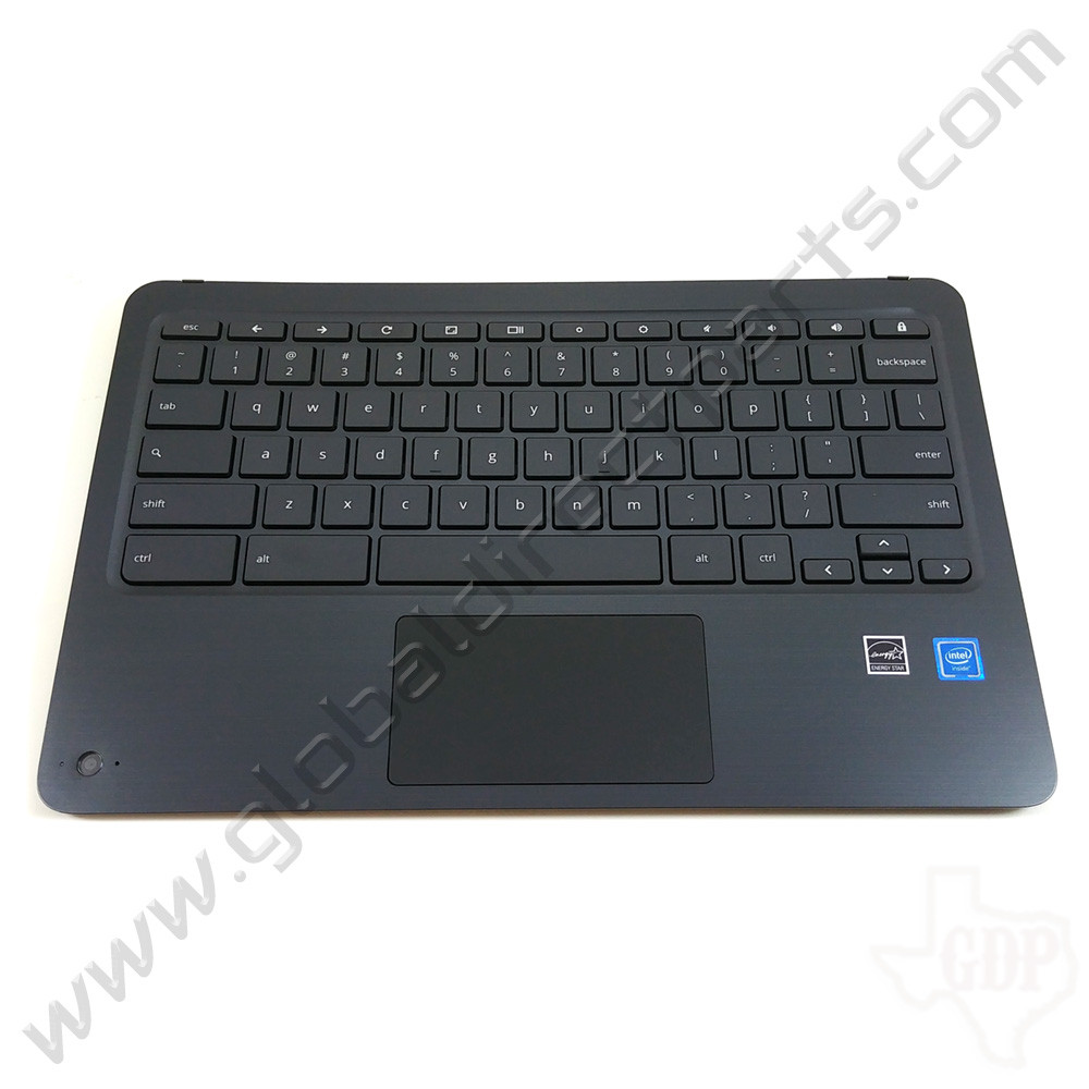 OEM HP Chromebook x360 11 G2 EE Keyboard with Touchpad & Camera Lens [C-Side]