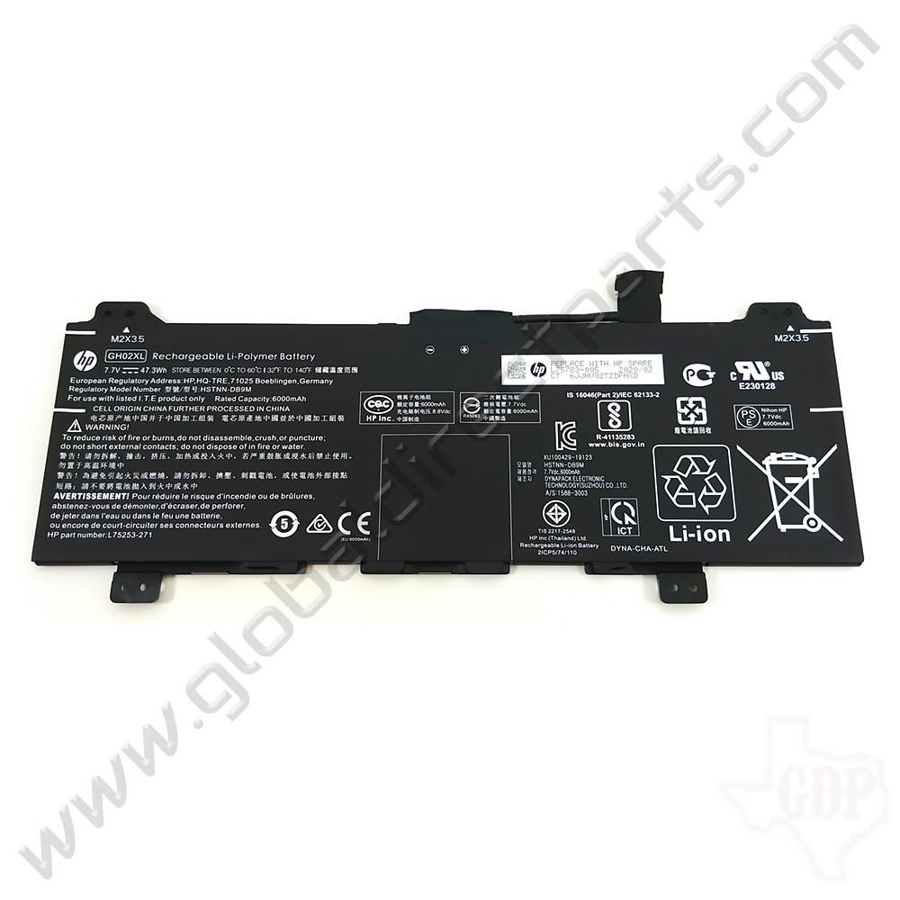 OEM HP Chromebook 11 G8 EE, 11A G8 EE, 14 G6, x360 11 G3 EE Battery [GH02XL]
