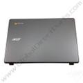 OEM Reclaimed Acer Chromebook C720P LCD Cover [A-Side] - Gray [EAZHN005020]