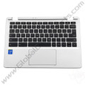 OEM Reclaimed Acer Chromebook 11 CB3-111 Keyboard with Touchpad [C-Side] - White