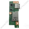 OEM Acer Chromebook 15 CB3-531 SD Card Reader & USB PCB [DA0ZRUTH6D0]
