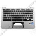 OEM Reclaimed HP Chromebook 11 G3, G4 Keyboard [C-Side] - Silver [788639-001]