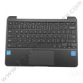OEM Reclaimed Samsung Chromebook 3 XE500C13 Keyboard with Touchpad [C-Side] - Black [BA98-00603A]