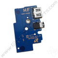 OEM Samsung Chromebook 2 XE503C32 Audio Jack & USB PCB [BA92-14239A]