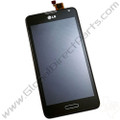 OEM LG Optimus F6 D500 LCD & Digitizer Assembly with Front Housing