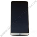 OEM Reclaimed LG G3 LCD & Digitizer Assembly with Front Housing - Black