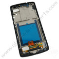 Aftermarket LCD & Digitizer Assembly with Front Housing Compatible with LG Google Nexus 5 D820 - Black