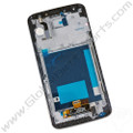 OEM LG G2 VS980 LCD & Digitizer Assembly with Front Housing - Black [No Carrier Logo]