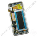 OEM Samsung Galaxy S7 Edge G935A Complete AMOLED & Digitizer Assembly with Front Housing - Silver