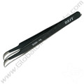 Best Non-Magnetic Fine Curve Tipped Tweezer [ESD-15, 125 mm]