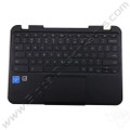 OEM Reclaimed Lenovo N22, N22 Touch Chromebook Keyboard with Touchpad [C-Side] - Black