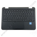 OEM Dell Chromebook 11 3180 Education Keyboard with Touchpad [C-Side] - Black