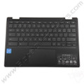 OEM Reclaimed Acer Chromebook C738T, CB5-132T Keyboard with Touchpad [C-Side] - Black