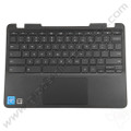 OEM Lenovo N23, N23 Touch Chromebook Keyboard with Touchpad [C-Side] - Gray