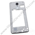 OEM LG Aristo MS210 Rear Housing - Silver