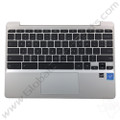 OEM HP Reclaimed Chromebook 11 G5, G5 Touch, 11-V011DX Keyboard with Touchpad [C-Side] - Black