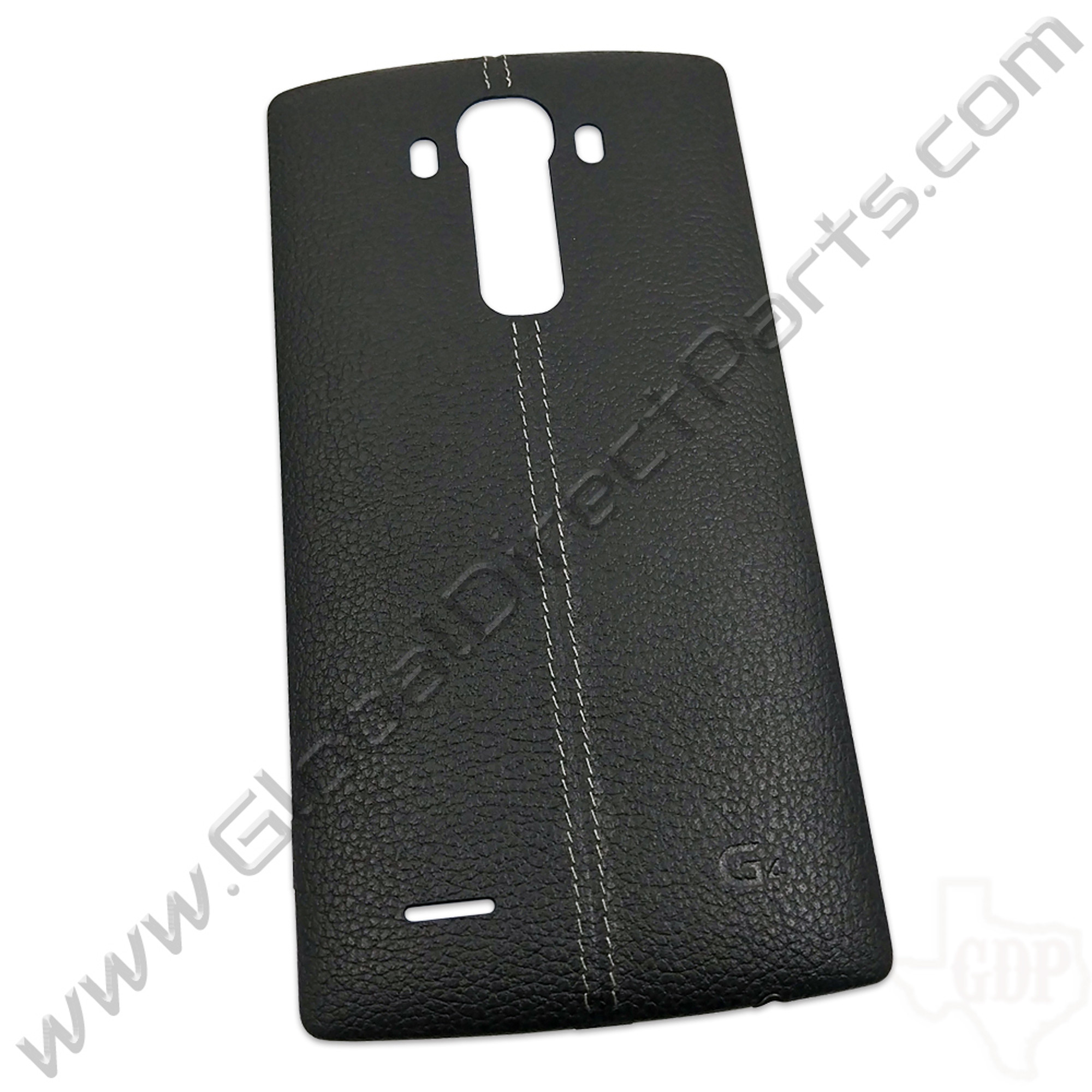 sneakers for cheap 77ec4 7469c OEM LG G4 H811, H815, LS991, US991 Battery Cover - Black [Leather]