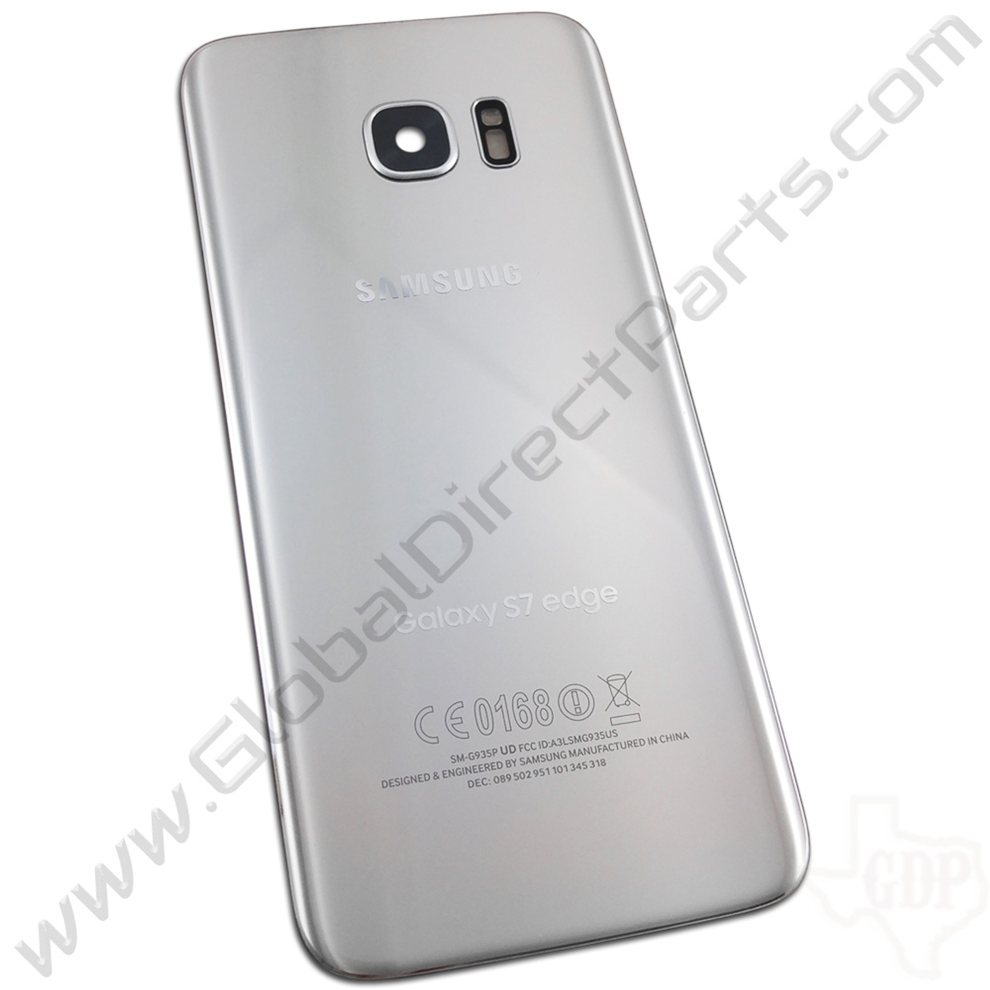 the best attitude 640a4 4ad87 OEM Samsung Galaxy S7 Edge G935T, G935P, G935R Battery Cover - Silver