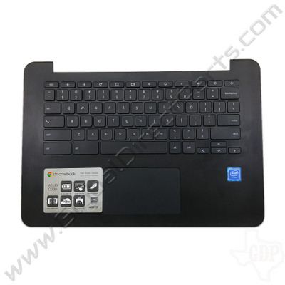OEM Reclaimed Asus Chromebook C300M Keyboard with Touchpad [C-Side] - Black [PRBC13NB05W]