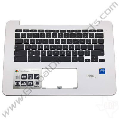 OEM Reclaimed Asus Chromebook C300M Keyboard [C-Side] - White [PRBC13NB05W]