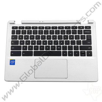 OEM Reclaimed Acer Chromebook 11 CB3-111 Keyboard with Touchpad [C-Side] - White [EAZHQ003010]