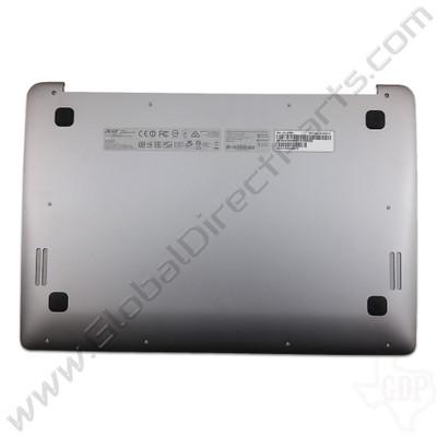 OEM Reclaimed Acer Chromebook 14 CB3-431 Bottom Housing [D-Side] - Silver [MGM-13N0-G1P0501-1]