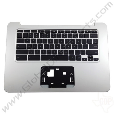 OEM Reclaimed HP Chromebook 14 G3, G4 Keyboard [C-Side] - Black [Black Strip] [788511-001]