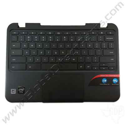 OEM Lenovo N21 Chromebook 80MG Keyboard with Touchpad [C-Side] - Black [37NL6TC0040]
