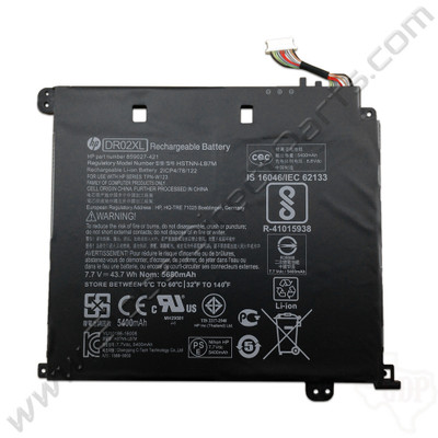 OEM HP Chromebook 11 G5, G5 Touch, 11-V011DX Battery [DR02XL]