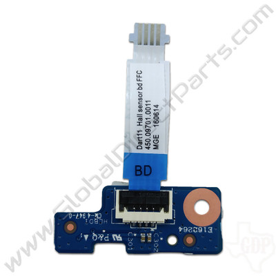 OEM HP Chromebook 11 G5, G5 Touch, 11-V011DX LED PCB with Flex [900815-001]