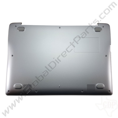 OEM Samsung Chromebook 2 XE500C12 Bottom Housing [D-Side] - Gray [BA97-07248A]