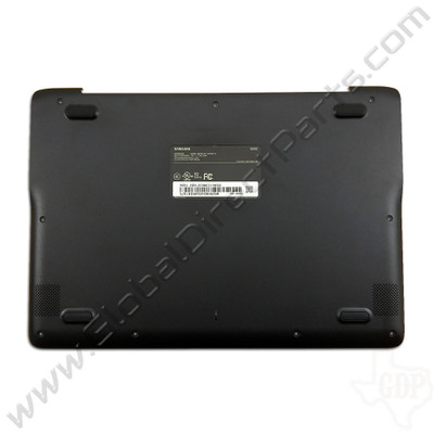 OEM Reclaimed Samsung Chromebook 3 XE500C13 Bottom Housing [D-Side] - Black [BA98-00759A]