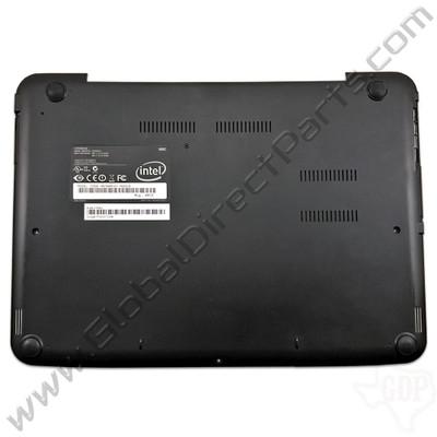 OEM Reclaimed Samsung Chromebook 2 XE500C21 Bottom Housing [D-Side] - Black [BA75-03196A]