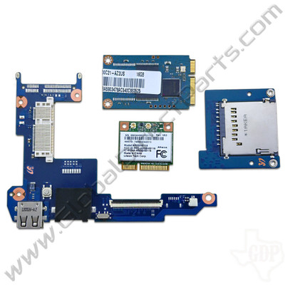OEM Samsung Chromebook 2 XE500C21 Audio Jack & USB PCB