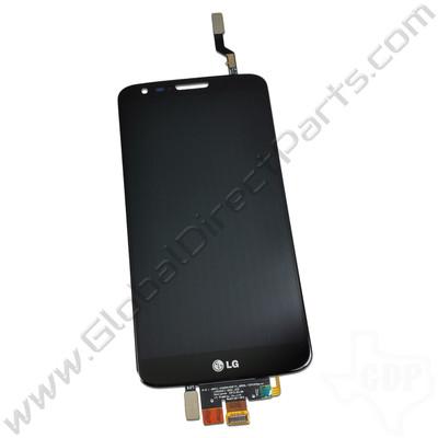 OEM LG G2 D800, D801, LS980, VS980 LCD & Digitizer Assembly - Black