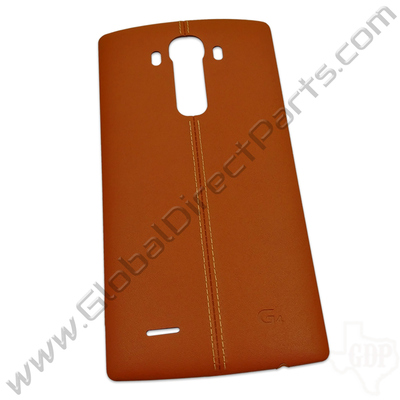 OEM LG G4 H811, H815 Battery Cover - Brown [Leather]