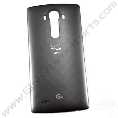 OEM LG G4 VS986 Battery Cover - Gray