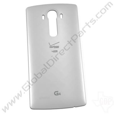 OEM LG G4 VS986 Battery Cover - White