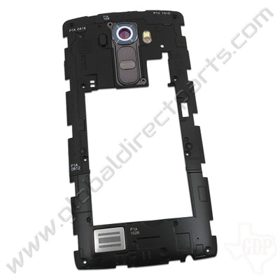 OEM LG G4 VS986 Rear Housing with Loud Speaker Module - Gray