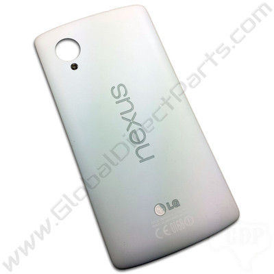 OEM LG Google Nexus 5 D820 Battery Cover - White