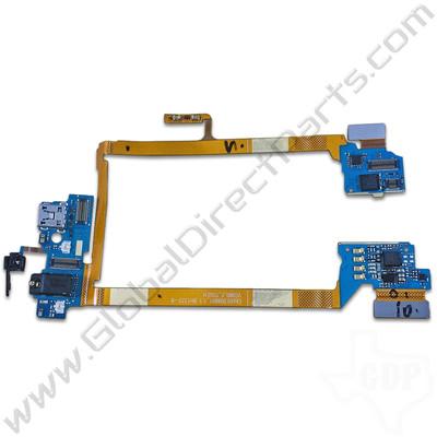 OEM LG G2 VS980 Charge Port PCB with Audio Jack, Mic & Flex