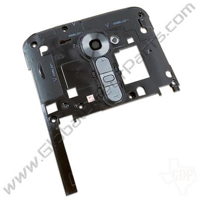 OEM LG G2 VS980 Upper Rear Housing - Black