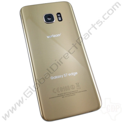 OEM Samsung Galaxy S7 Edge G935V Battery Cover - Gold