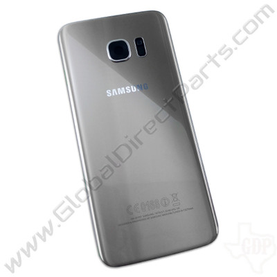 OEM Samsung Galaxy S7 Edge G935F Battery Cover - Silver