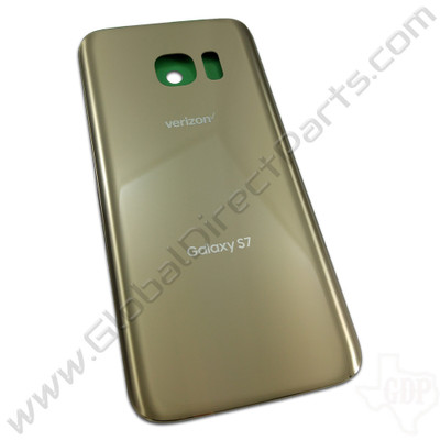 OEM Samsung Galaxy S7 G930V Battery Cover - Gold